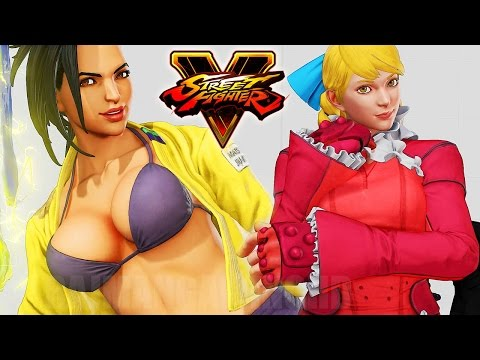 Street Fighter 5 - New Premium Costumes (March update) @ 1080p (60fps) HD ✔