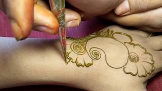 Stylish Arabic Mehndi Design || Simple Henna Design || Prati Creations
