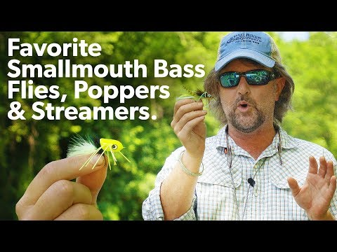 Smallmouth Bass Flies EVERYONE Should Use!