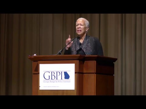 Angela Glover Blackwell Keynote for GBPI's 2016 Policy Conference