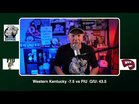 Western Kentucky vs FIU 11/21/20 Free College Football Picks and Predictions CFB Tips Pick Dawgz