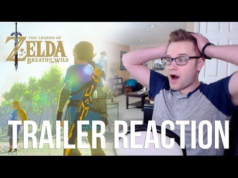 The Legend of Zelda: Breath of the Wild [Trailer Reaction]