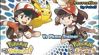 Pokemon Let's Go Pikachu & Eevee : Trainer Battle theme Recreation