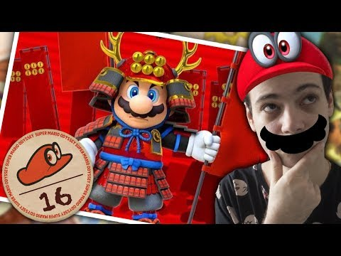 SUPER MARIO ODYSSEY #16 - MARIO LE SAMOURAÏ VISITE LE JAPON MÉDIÉVAL !