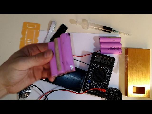 PowerBank из батареи от ноутбука, СВОИМИ РУКАМИ! (конструктор)