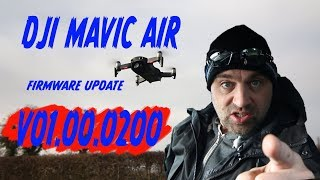 DJI MAVIC AIR FW Update V01.00.0200 Jitter Buster?