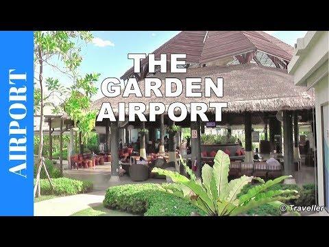 Inside Koh Samui International Airport - A walk through Thailand's Samui Airport (USM) - Ko Samui