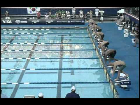 2010 Mutual of Omaha Pan Pacific Championships Nathan Adrian 100m and 50m Freestyle .wmv