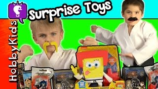 HobbyKarate Surpise Blind Box Blind Bags SpongeBob SquarePants Funko Marvel by HobbyKidsTV