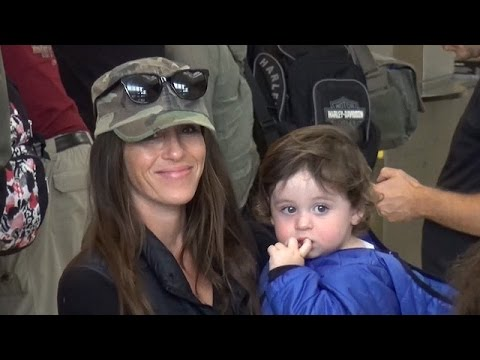 EXCLUSIVE - Soleil Moon Frye And Her Lovely Family Catch Flight Out Of LAX