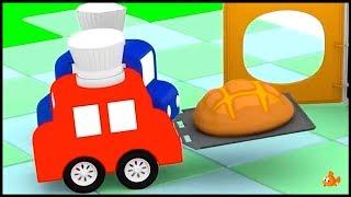FOOD! - CARTOON KITCHEN! - Cartoon Cars - Cartoons for Children - Videos for Kids