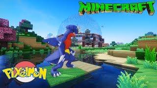 Minecraft Pixelmon+ Tập 13: Một Á Thần Cực kì nguy hiểm Garchomp Tái sinh