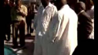 Reggie Hampton Gets Baptized