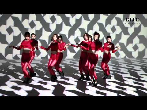 나인뮤지스[9MUSES] GLUE(글루) 뮤직비디오 촬영장 메이킹영상