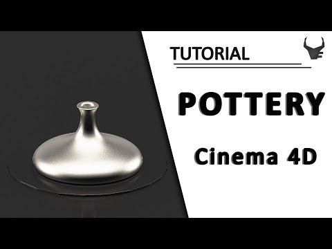 Pottery | Cinema 4D Tutorial