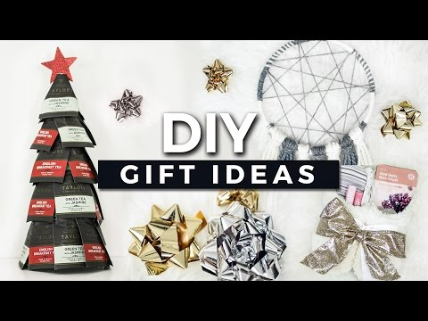 DIY Gift Ideas! Easy & Affordable Christmas Gifts! + GIVEAWAY