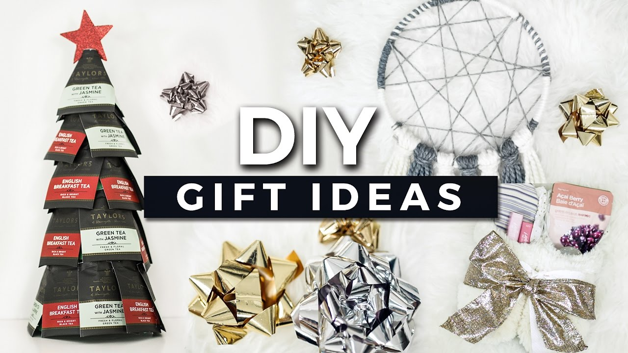 DIY Gift Ideas! Easy & Affordable Christmas Gifts! + GIVEAWAY - YouTube