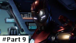 MARVELS AVENGERS Gameplay Walkthrough Part 9 Full Game | MARVELS AVENGERS Part 9 Full Commentary