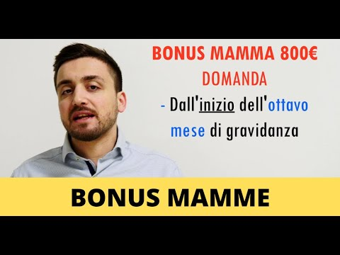 👩 Bonus mamme disoccupate: come averli