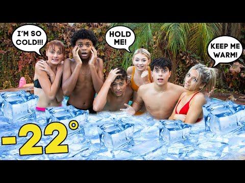 LAST TO LEAVE FREEZING ICE TUB WINS!  | Gavin Magnus