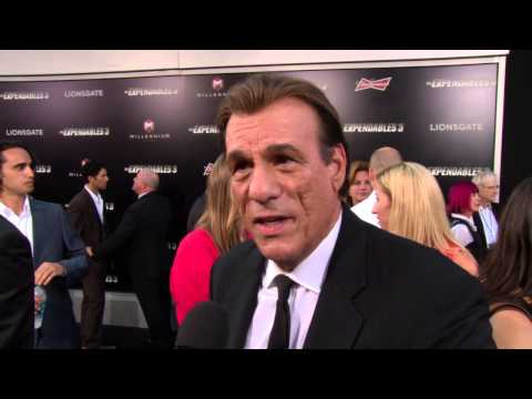 The Expendables 3: Robert Davi Red Carpet Movie Premiere Interview