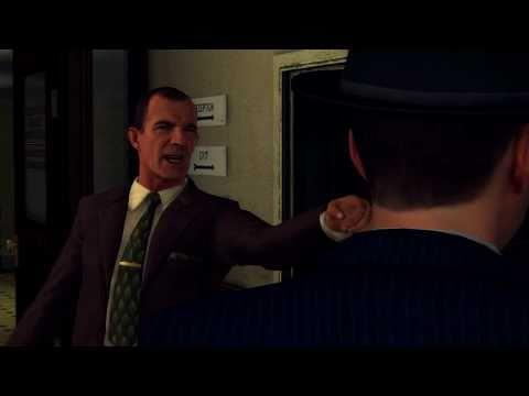 LA Noire   gameplay orientation trailer (2011) Rockstar Games