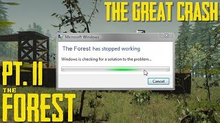 The Great Crash of 2017 - The Forest
