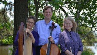 Amazing Grace - harp, flute, cello - Adagio Trio