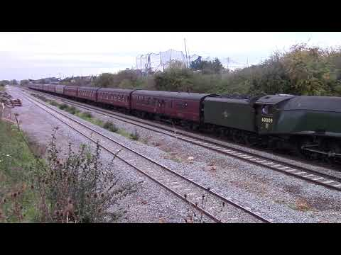 60009 Union Of South Africa THE YORKSHIREMAN tour, at wellingborough 23/09/17