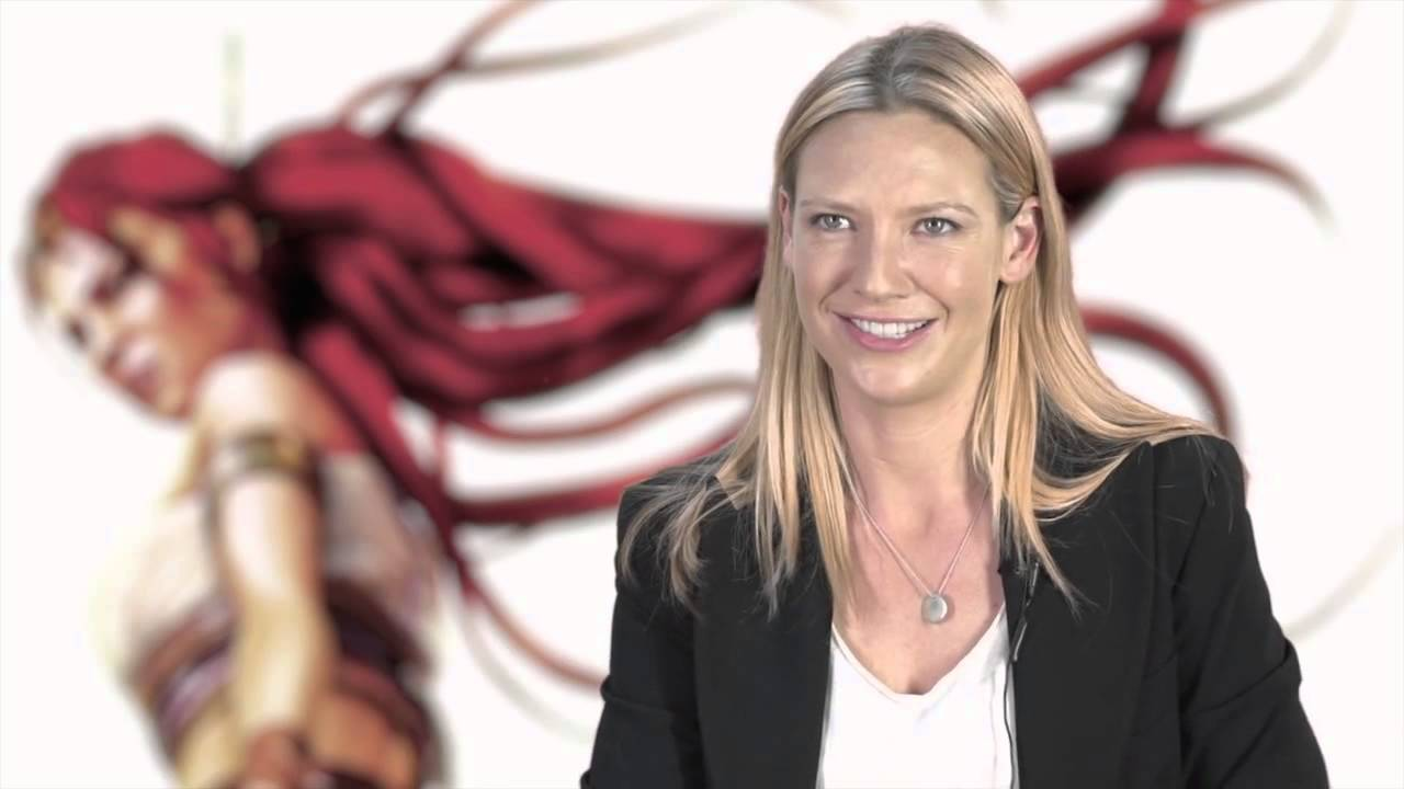 Heavenly Sword The Beautiful Anna Torv Talk About Movie Role Youtube