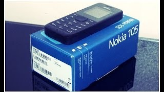 Nokia 105 Black - Unboxing & Full Review [HD]