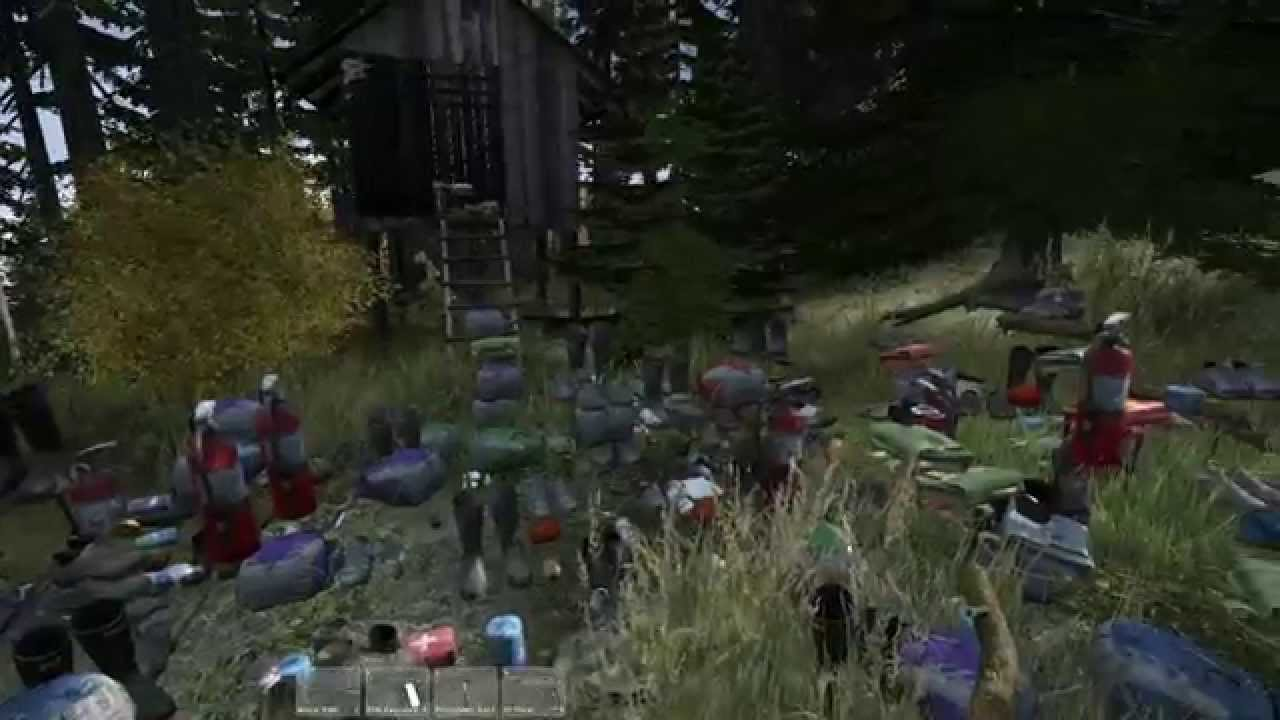 DayZ Standalone Tents Location (Experimental) & DayZ Standalone Tents Location (Experimental) - YouTube