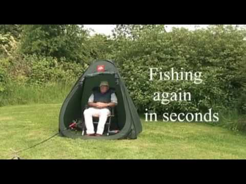 & Putting up my Pop a Bivvy - YouTube