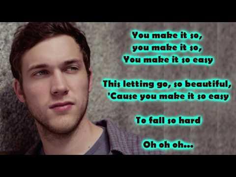 Phillip Phillips - So Easy (Lyrics)