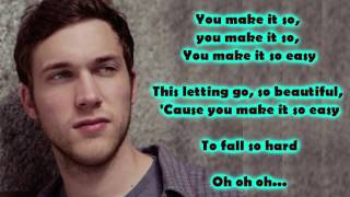 Phillip Phillips - So Easy (Lyrics)