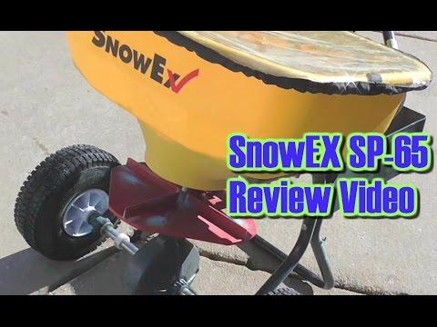 SnoEx SP-65 Walk Behind Broadcast Spreader Review