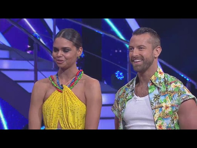 DWTS 2015 Week 3 Samantha Harris and Joshua Keefe Australia