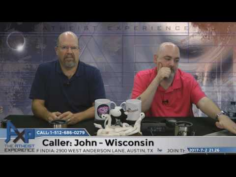Equating God with Science   John - WI   Atheist Experience 21.26