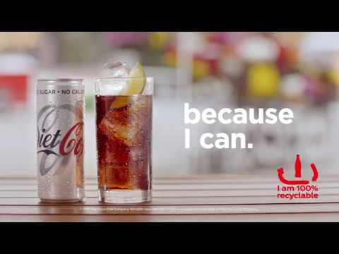 Turkey of the week: Diet Coke's joyless 'Because I can' ad doesn't
