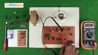 Mixer Grinder Speed Control using RF Remote by KitsGuru.com   LGEE013
