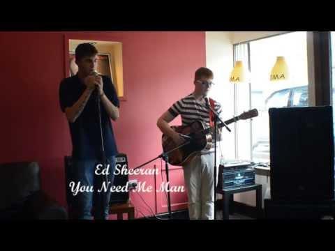 Ed Sheeran- You need me cover, The False Mourners