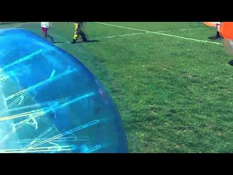 Bubble soccer at Charleston Collegiate School