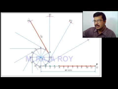 Drawing Involute by M. Raja Roy
