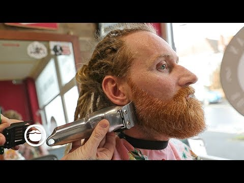 Master Barber Shows How to Shape Up Your Beard
