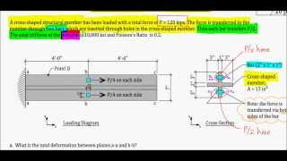 Axial Deformation - Exam Problem, F13 (key Lime)
