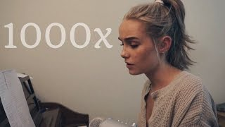1000x - Jarryd James & Broods (Cover) by Alice Kristiansen