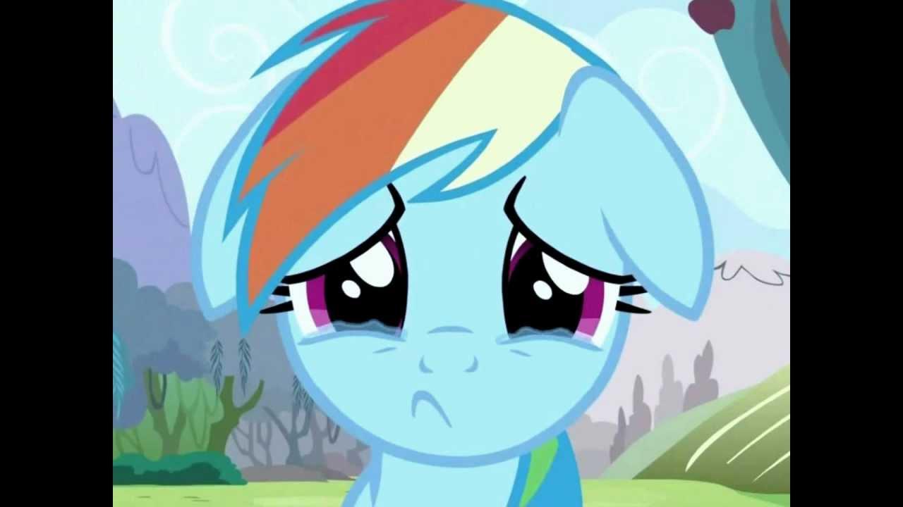 You Made Rainbow Dash Cry :(