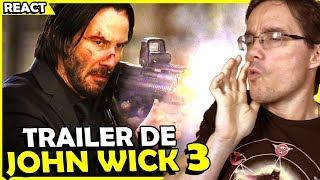 TRAILER JOHN WICK 3 - REACT E PRIMEIRA ANÁLISE