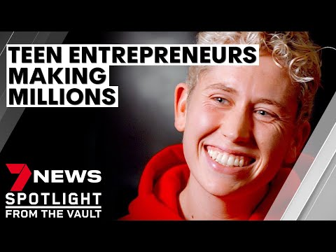 Teen millionaires: the young entrepreneurs running successful businesses | 7NEWS Spotlight