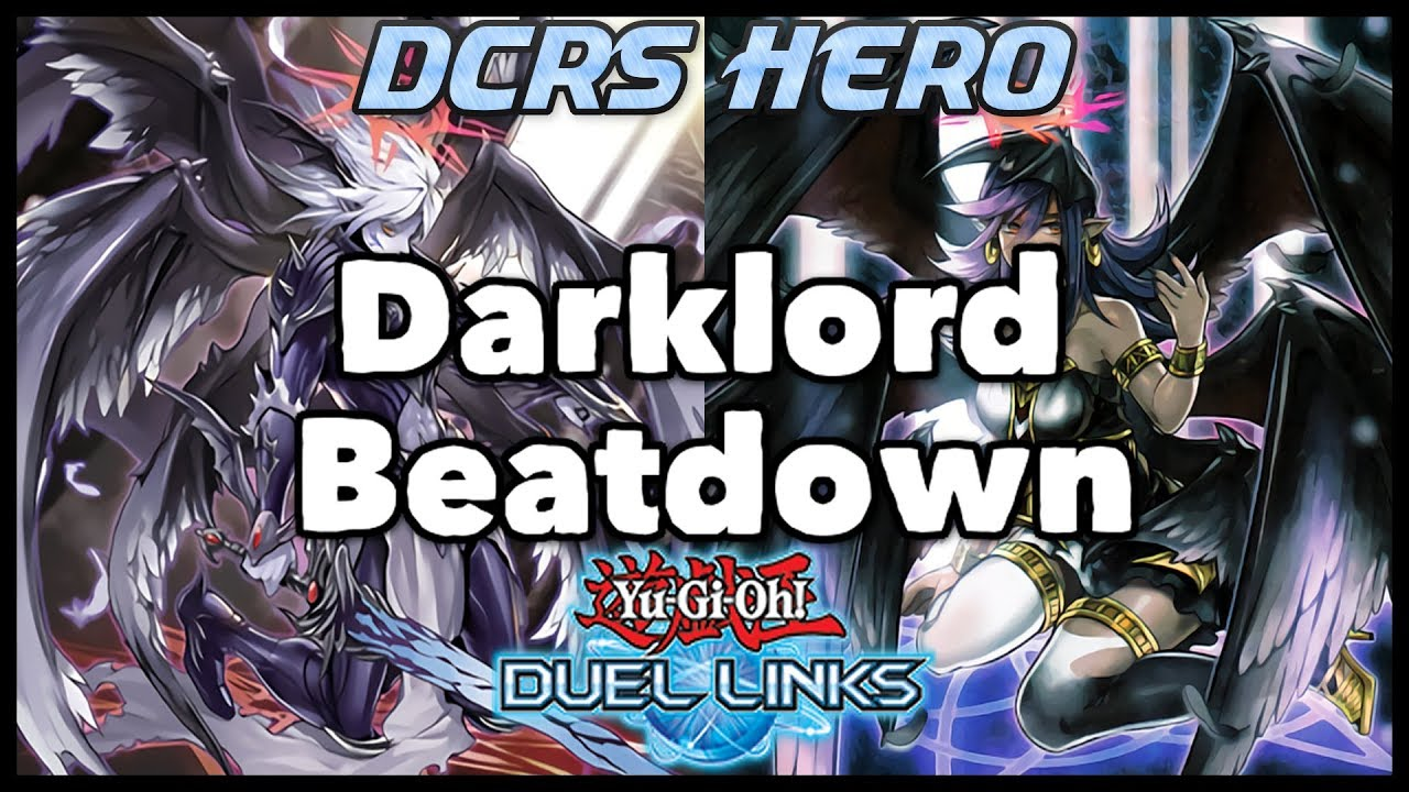 [DUEL LINKS] Darklord Beatdown - PVP Duels + Deck Profile